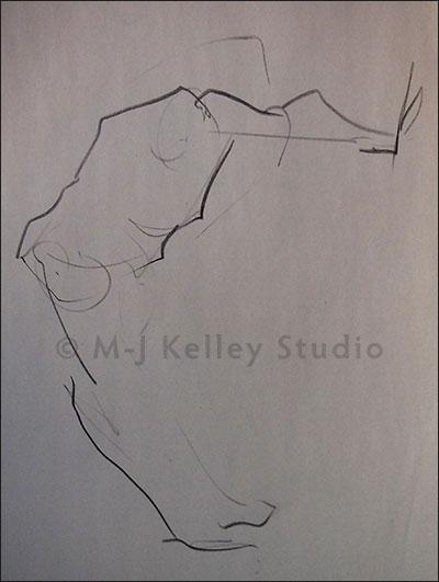 Letter C - M-J Kelley (charcoal)