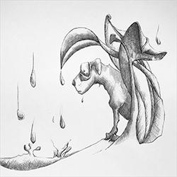 InkTober – Day 25 – Stray