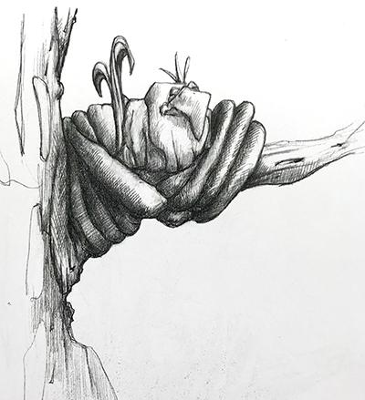 InkTober – Day 2 – Birdnest